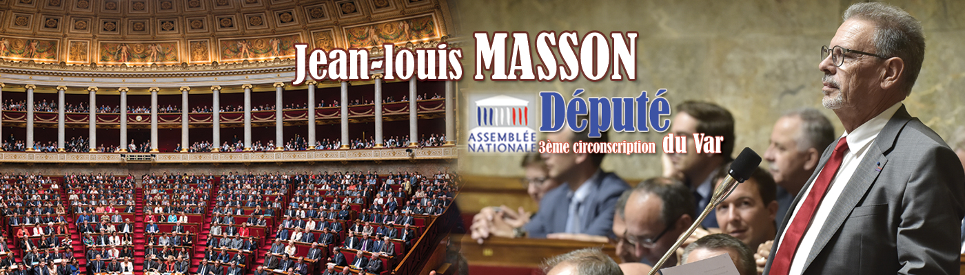 – Site Officiel de Jean-Louis Masson- Député du Var